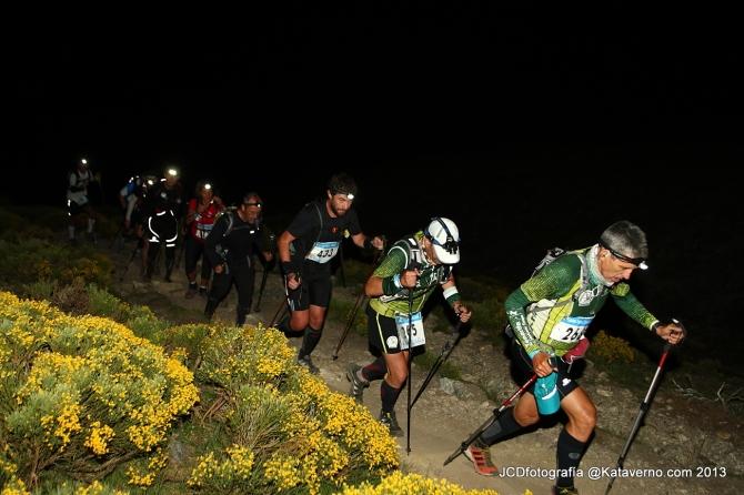 Fotos Gran Trail Peñalara 2013: Llegando al Collado Piornal.