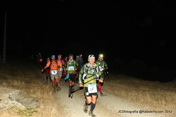fotos gran trail peñalara  por kataverno: Rumbo a Hoya  San Blas