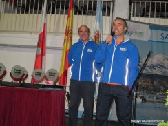 Desafío Cantabria 2013: Pablo Criado dando la charla técnica previa carrera.