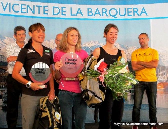 Desafio Cantabria 2013: Nerea Martínez, Silvita Trigueros y Maddi Arriozola, un podio femenino de enorme nivel.